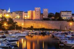 Abtei des Heilig-Siegers in Marseille Lizenzfreie Stockbilder