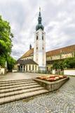 Abtei des heiligen Kreuzes u. des x28; Stift Heiligenkreuz& x29; in Wien-Holz Lizenzfreie Stockfotos