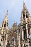 Abtei des Heiligen-Ouen in Rouen Stockbild