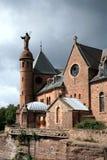 Abtei in Elsass, Frankreich Lizenzfreie Stockfotos
