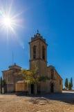 Abtei im Berg, Spanien, Aragonien Stockfotografie