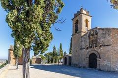Abtei im Berg, Spanien, Aragonien Lizenzfreies Stockbild