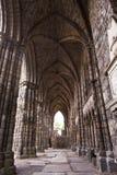 Abtei im Holyrood Palast Stockfotos