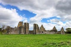 Abtei in Irland. Stockfoto