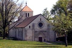 Abtei in Jura, die Schweiz Lizenzfreie Stockbilder