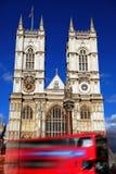 Abtei-Kathedrale in London, Großbritannien Stockbilder