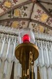 Abtei-Kathedrale Str Normanne, gotisch Lizenzfreies Stockbild
