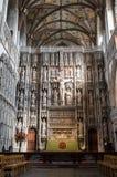 Abtei-Kathedrale Str Normanne, gotisch stockbilder
