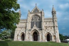 Abtei-Kathedrale Str Normanne, gotisch lizenzfreie stockfotos