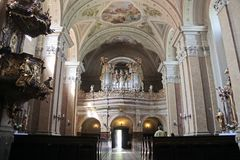 Abtei-Kirche in Tihany Lizenzfreies Stockfoto
