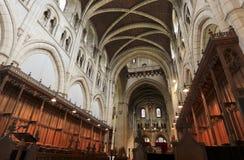 Abtei-Kirche von Heiligem Mary oder Buckfast Abtei Stockbild