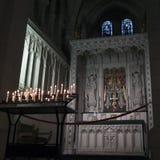 Abtei-Kirche von Heiligem Mary oder Buckfast Abtei Lizenzfreie Stockfotos