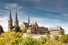 Abtei Kloster Michelsberg in Bamberg Lizenzfreies Stockfoto