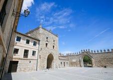Abtei Las Huelgas nahe Burgos in Spanien Lizenzfreies Stockfoto