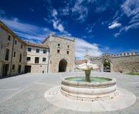 Abtei Las Huelgas nahe Burgos in Spanien Stockbild