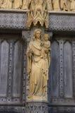 Abtei Madonna1 Stockfoto