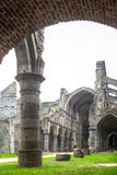 Abtei ruiniert Villers La ville Belgien Stockbild