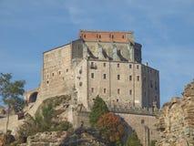 Abtei Sacradi San Michele Stockfotos