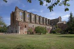 Abtei San-Galgano Stockfotos