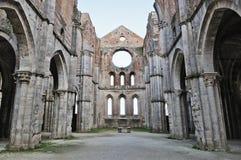 Abtei San-Galgano Lizenzfreies Stockfoto