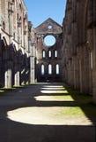 Abtei San-Galgano Lizenzfreie Stockbilder