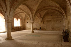 Abtei San-Galgano Lizenzfreies Stockbild