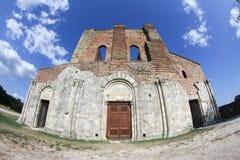 Abtei San-Galgano, Toskana, Italien Stockbild