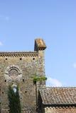 Abtei San-Galgano, Toskana, Italien Stockfotos