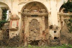 Abtei Sans Francescu auf Korsika-Insel, Frankreich Stockfoto
