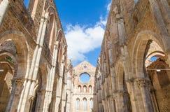 Abtei Sans Galgano Lizenzfreies Stockfoto