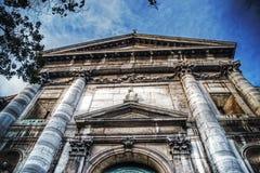 Abtei Sans Vidal im hdr Stockfoto