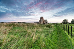 Abtei St. Benets in Norfolk Lizenzfreie Stockbilder