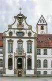 Abtei St. Mang, Fussen Stockbild