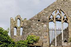 Abtei St. Marys, Howth, Dublin Lizenzfreies Stockbild