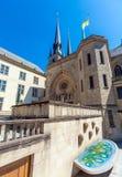 Abtei und Kirche St. Ioann, Luxemburg Lizenzfreie Stockbilder