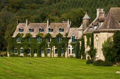 Abtei Vauxde Cernay Stockfoto