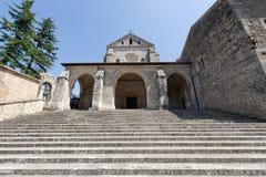 Abtei von Casamari (Lazio, Italien) stockfotografie