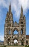 Abtei von DES Vignes, Soissons, Frankreich St. Jean Stockfotografie