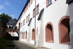 Abtei von Eberbach Stockbild