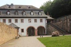 Abtei von Eberbach, Eltville, Deutschland Lizenzfreies Stockbild