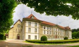 Abtei von Hauterive die Schweiz Stockfotografie