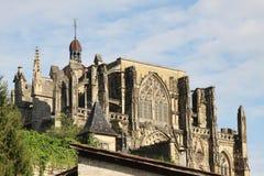 Abtei von Heilig-Antoine-l'Abbaye Stockfotos