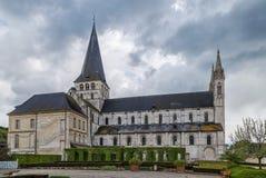 Abtei von Heilig-Georges, Boscherville, Frankreich Stockbild
