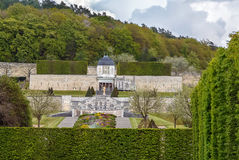 Abtei von Heilig-Georges, Boscherville, Frankreich Lizenzfreies Stockfoto