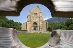 Abtei von Heilig-Jean-d'Aulps, Frankreich Stockfotos