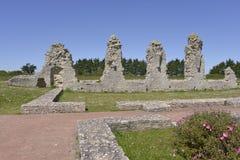Abtei von Lac$flotte-en-cc$rã© in Frankreich Stockbild