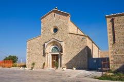 Abtei von Madonna Del Casale. Pisticci. Basilikata. Italien. Lizenzfreie Stockfotos