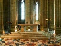 Abtei von Mont St Michel Stockfoto