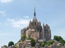 Abtei von Mont St Michel Stockbild