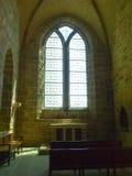 Abtei von Mont St Michel Lizenzfreies Stockfoto